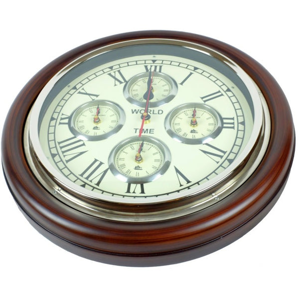 Philadelphia World Time Wall Clock