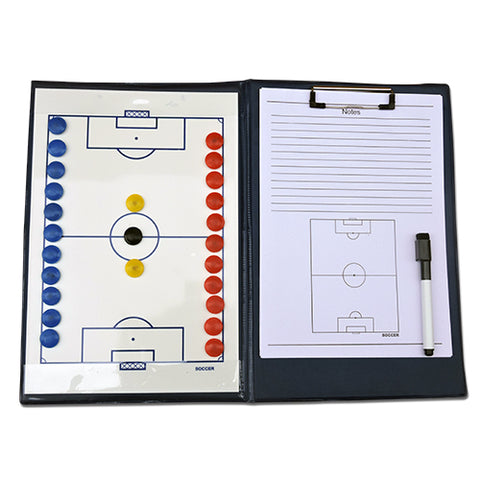 A4 COACHES FOLDER With PLAYER MAGNETS