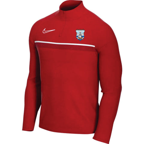 FK Beograd Nike Qtr Zip Academy 21 Drill Top - Red