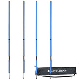 ALPHA SPRING & AGILITY SPEED POLE 4 PACK YELLOW | BLUE