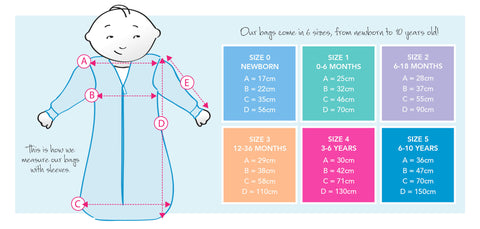 sleeping bag sizes 4