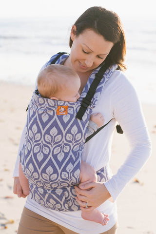 breastfeeding in tula baby carrier
