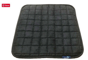 Brolly Sheets Absorbent chair pad - small black Car Seat Protector - Nest 2 Me Baby Carriers Australia