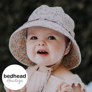Bedhead Hats Arabella Design Toddler Ruffle Bucket - Bedhead Hats hat - Nest 2 Me Baby Carriers Australia