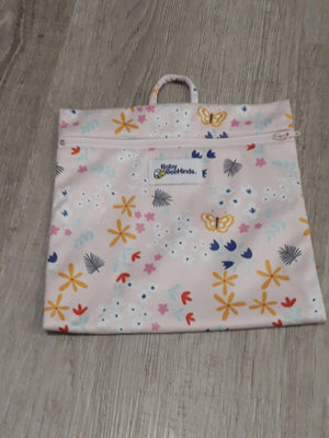 Baby BeeHinds Baby BeeHinds Mini Wetbag Floral Pink wet bags - Nest 2 Me Baby Carriers Australia