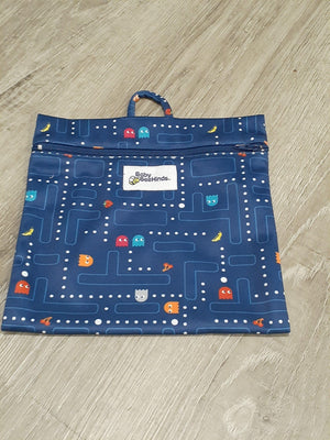 Baby BeeHinds Mini Wetbag Pacman Retro wet bags Baby BeeHinds