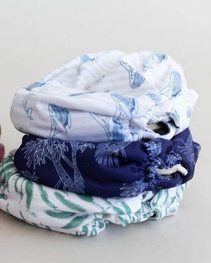 Bare + Boho Bare and Boho Coastal - Reusable Cloth Nappies V3 Trial Trio Pack with Bamboo Inserts Nappies - Nest 2 Me Baby Carriers Australia