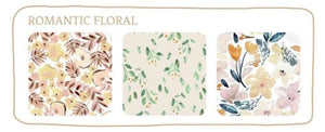 Bare + Boho Bare and Boho Romantic Floral - Reusable Cloth Nappies V3 Trial Trio Pack with Bamboo Inserts Nappies - Nest 2 Me Baby Carriers Australia