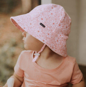 Bedhead Hats Bedhead Hat - Daisy Print Bucket Hat hat - Nest 2 Me Baby Carriers Australia