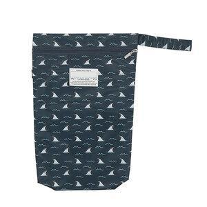 Bedhead Hats Bedhead Wetbag Jaws Shark Print wet bags - Nest 2 Me Baby Carriers Australia