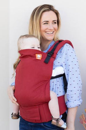 Tula Baby Carriers Australia Nest 2 Me Brick Red Tula Baby Carrier Tula Baby Carriers Australia - Nest 2 Me Baby Carriers Australia