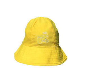 Canary Yellow Quick Dry USP 50+ Baby Bucket Hat by Frog Orange Children's Caps & Hats Frog Orange