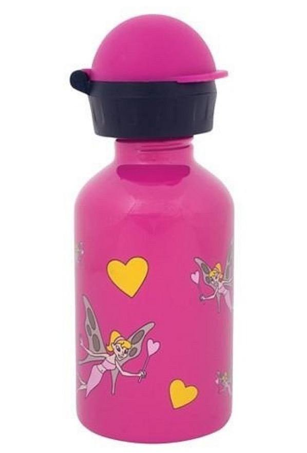 cheeki stainless bottles Cheeki Stainless Steel Kids Drink Bottle BPA Free - Fairies 350mL kids stainless bottle - Nest 2 Me Baby Carriers Australia