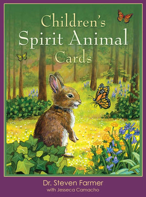 Dr Stephen Farmer Childrens Spirit Animal Oracle Tarot Guide Cards - boxed set oracle tarot cards - Nest 2 Me Baby Carriers Australia