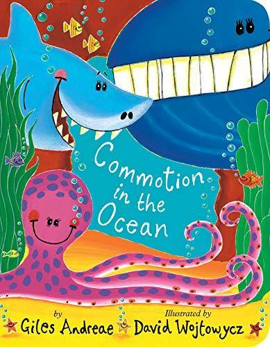 Commotion in the Ocean Paperback Book book Giles Andreae