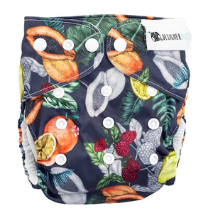 Designer Bums Dark Orchard Designer Bums Nappy Reusable nappy - Nest 2 Me Baby Carriers Australia