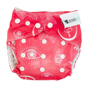 Designer Bums Designer Bums Reusable Nappy - Talisman Nappies - Nest 2 Me Baby Carriers Australia