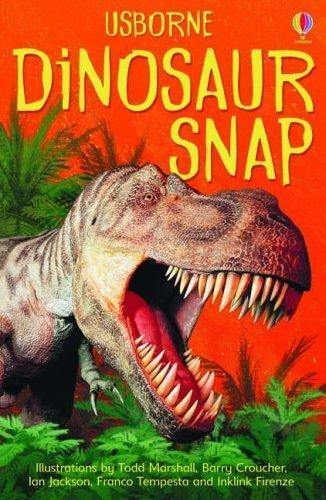 Usborne Dinosaur Snap Cards Game - Nest 2 Me Baby Carriers Australia