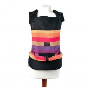 Emeibaby Discounted Ex-Display Stock Emeibaby Carrier Bunt - Orange Purples Pinks baby carrier - Nest 2 Me Baby Carriers Australia
