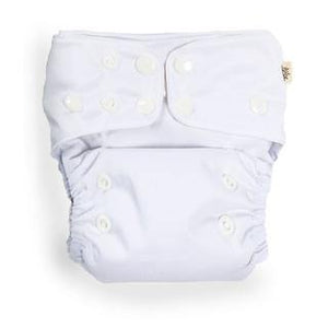 econaps EcoNaps Convertible Cloth Nappy - Snow White Nappies - Nest 2 Me Baby Carriers Australia