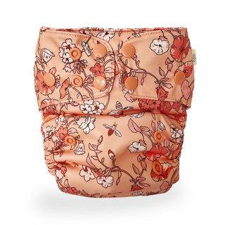 econaps EcoNaps Convertible Cloth Nappy - Vintage Blossom Nappies - Nest 2 Me Baby Carriers Australia