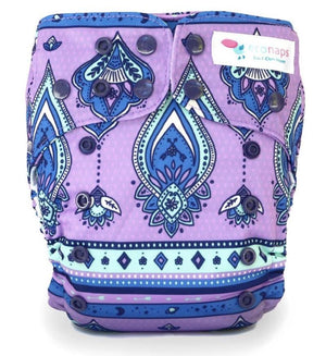 econaps EcoNaps Convertible Cloth Nappy - Wild Gypsy Nappies - Nest 2 Me Baby Carriers Australia