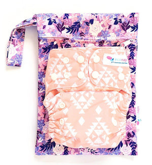 econaps Econaps mini wetbag - Summer Blooms mini wetbag - Nest 2 Me Baby Carriers Australia