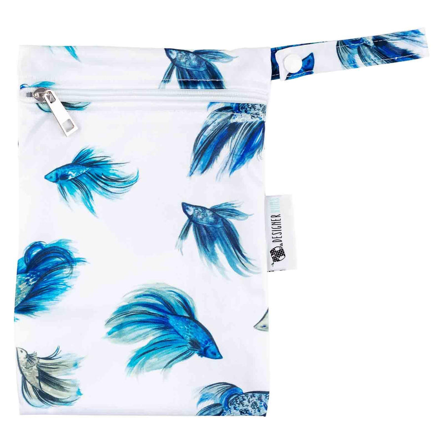 Designer Bums Fighting Fish Designer Bums Nappy Reusable nappy - Nest 2 Me Baby Carriers Australia