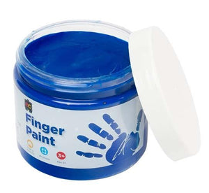 Finger Paint 250mL Blue paint Educational Colours