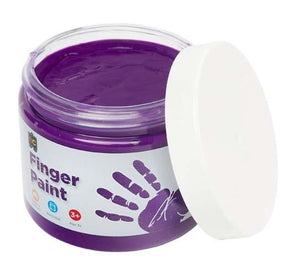 Finger Paint 250mL Purple paint Educational Colours