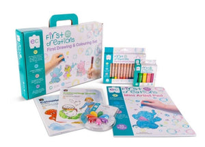 Learning can be fun First Creations Deluxe First Drawing Kit 3 yrs+ Educational Activity Set - Nest 2 Me Baby Carriers Australia