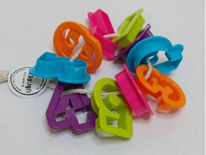 Bio Dough Fun Numbers 0-9 Cutters for Dough play dough cutters - Nest 2 Me Baby Carriers Australia