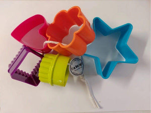 Bio Dough Fun Shapes Cutters for Dough play dough cutters - Nest 2 Me Baby Carriers Australia