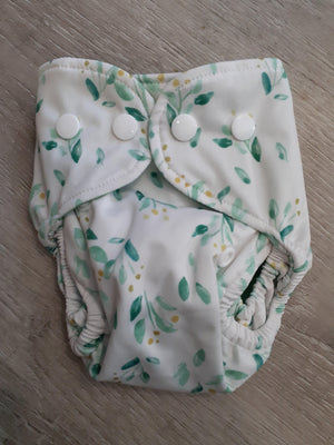 Bare + Boho Garden Newborn Bare and Boho Cloth Nappy Single Bamboo Nappies - Nest 2 Me Baby Carriers Australia