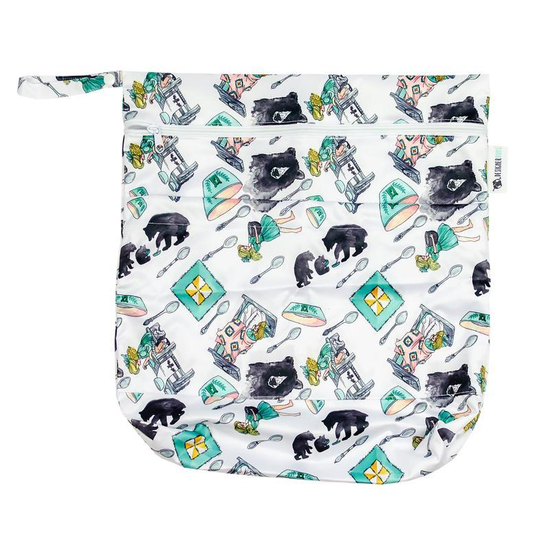 Designer Bums Goldilocks Wet Bag Designer Bums wet bags - Nest 2 Me Baby Carriers Australia