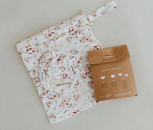 Bare + Boho Grounded - Bare and Boho Reusable Swim Nappy and Wetbag Set OSFM Nappies - Nest 2 Me Baby Carriers Australia