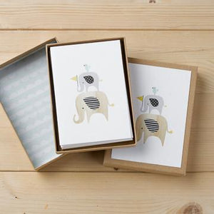 Compendium Hello Little One - Boxed Blank Card Set invitations cards - Nest 2 Me Baby Carriers Australia