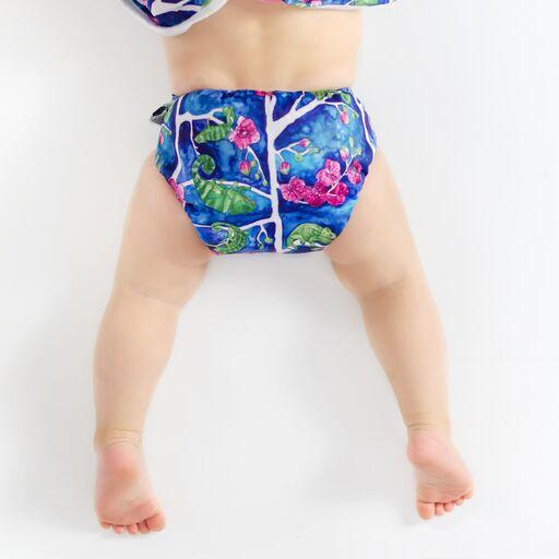 Designer Bums Karma Chameleon Designer Bums Art Pop AI2 Modern Cloth Nappy Nappies - Nest 2 Me Baby Carriers Australia