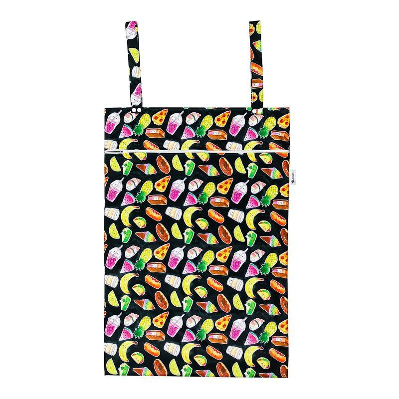 Designer Bums Kawaii Cafe XL Laundry Wet Bag Designer Bums wet bags - Nest 2 Me Baby Carriers Australia