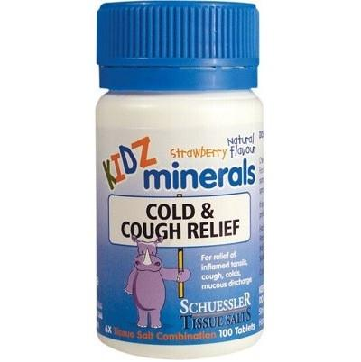 Kidz Minerals Kidz Cold and Cough Relief 100  - infants and children kidz minerals cold and cough relief tablets - Nest 2 Me Baby Carriers Australia