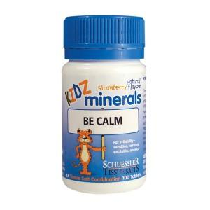 Kidz Minerals Kidz Minerals Be Calm 100 tabs - infants and children Be Calm tabs - Nest 2 Me Baby Carriers Australia