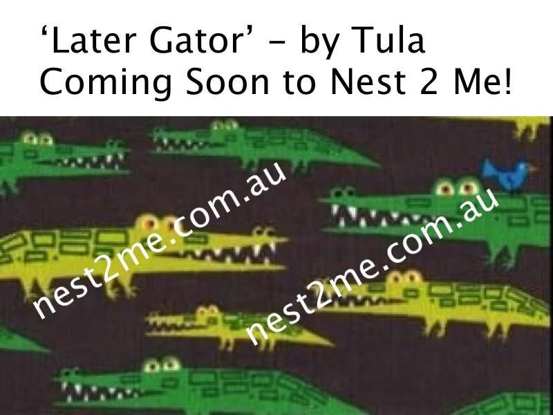 Tula Baby Carriers Australia Nest 2 Me Later Gator  - Tula Baby Carrier - Pre-Purchase Tula Ergonomic Baby Carriers - Nest 2 Me Baby Carriers Australia