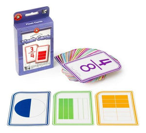 Learning can be Fun Flashcards Fractions 1-11/12 for 6 years+ flashcards Learning can be fun