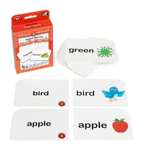 Learning can be Fun Flashcards Sight Words for 5 years+ flashcards Learning can be fun