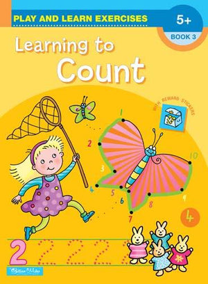 Learning to Count Play and Learn Activity Book 3 - Age 5+ kids activity book Gillian Miles Learning