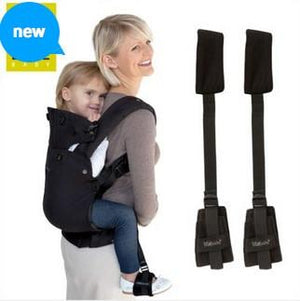 Lillebaby Toddler Foot Stirrups - Black Lillebaby Foot Stirrups Lillebaby Baby Carriers Australia