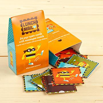 Compendium Lunch Mail Window Quote Cards - Superheroes lunch mail cards - Nest 2 Me Baby Carriers Australia