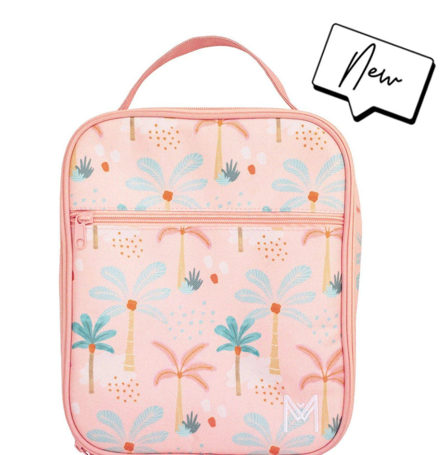 Montii Co Montii Co. Insulated Lunch Bag - Boho Palms lunch bag - Nest 2 Me Baby Carriers Australia