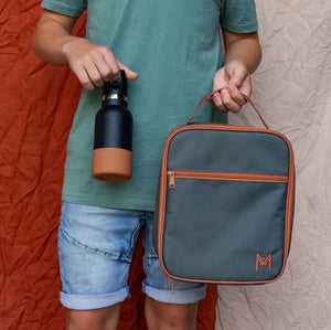 Montii Co Montii Co. Insulated Lunch Bag - Moss lunch bag - Nest 2 Me Baby Carriers Australia