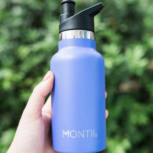 Montii Co Montii Co Mini Drink Bottle 350mL  - Purple drink bottle - Nest 2 Me Baby Carriers Australia